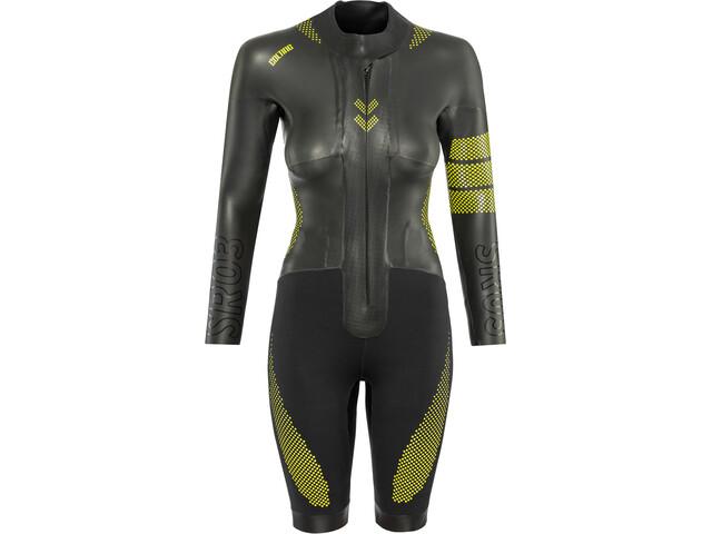 Colting Wetsuits Sr03 Swimrun Wetsuit Women, black